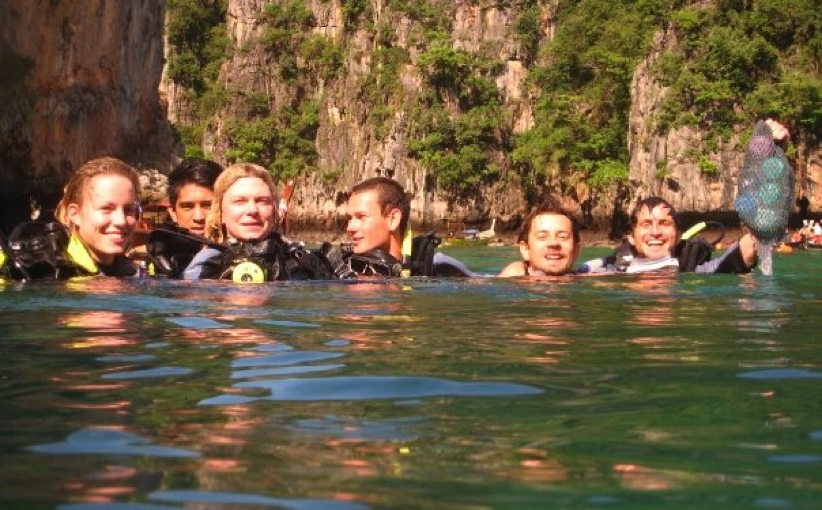 Tauchen & Meeresschutz in Thailand von Selina B
